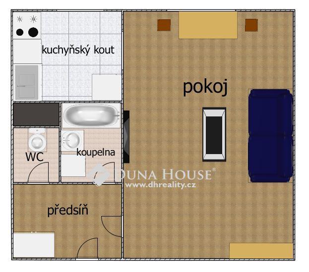 Pronájem bytu, Rodopská, Praha 4 Modřany